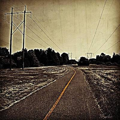 Pathway Photograph - To Nowhere Land. #nowhere #land by Jess Gowan