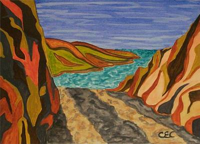 Painting - To The Sea by Carolyn Cable