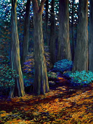 To The Woods Art Print by Jeanette Jarmon