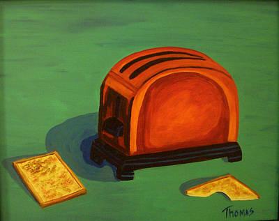 Toaster Painting - Toaster by Cynthia Thomas