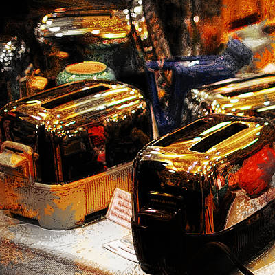 Toaster Photograph - Toasters by Simone Hester