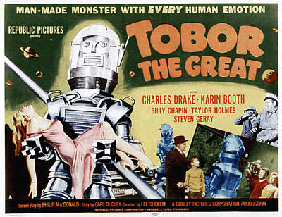 Tobor The Great, 1954 Art Print by Everett