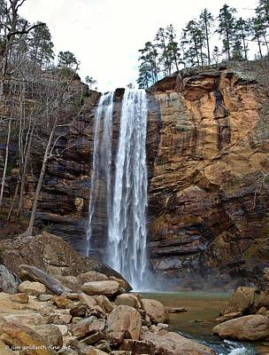 Photograph - Toccoa Falls by Jim Goldseth