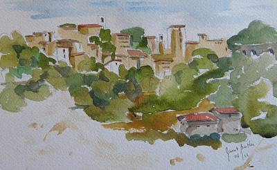 Todi In Central Italy Original by Janet Butler