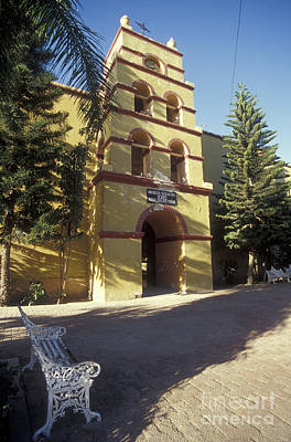 Photograph - Todos Santos Church Baja Mexico by John  Mitchell