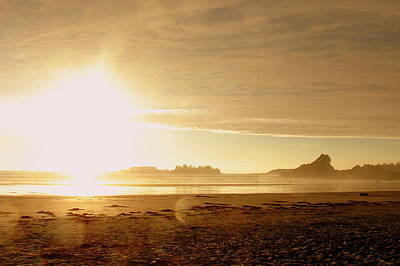 Photograph - Tofino Sunset by Ramona Johnston