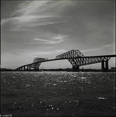 Y120831 Photograph - Tokyo Gate Bridge by Elmar35
