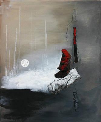 Art Of Vital Painting - Tokyo Moon by Germaine Fine Art