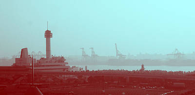 Metropolis Photograph - Tokyo Port by Naxart Studio