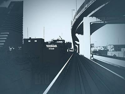 Tokyo Ride Print by Naxart Studio