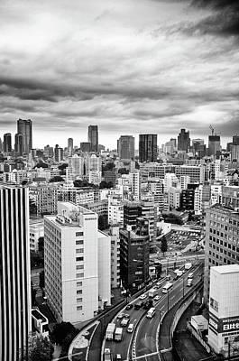 Tokyo Skyline Art Print by ©Takuya Arai