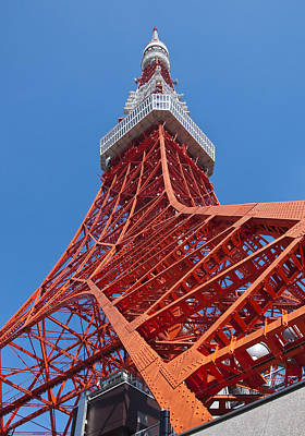 Photograph - Tokyo Tower by George Hawkins