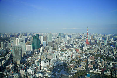 Y120907 Photograph - Tokyo View by Photo by Huang Chih-ming from Taiwan