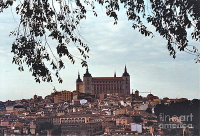 Photograph - Toledo Alcazar by Barbara Plattenburg