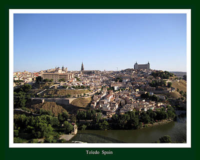 Photograph - Toledo Spain by John Shiron