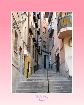 Photograph - Toledo Steps Spain by John Shiron