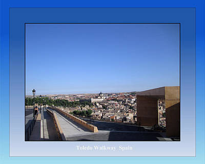 Photograph - Toledo Walkway Spain by John Shiron