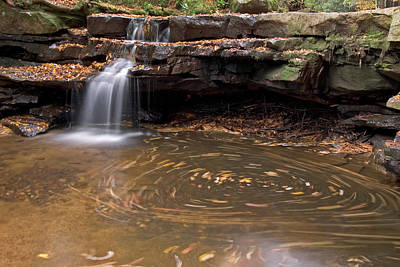 Photograph - Tolliver Falls by Jeannette Hunt
