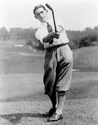 Photograph - Tom Armour Wins Us Golf Title - C 1927 by International  Images