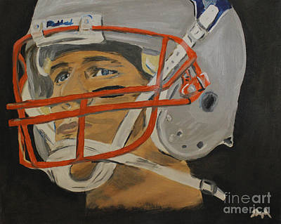 Painting - Tom Brady by Steven Dopka