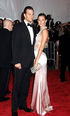 Evening Gown Photograph - Tom Brady Wearing A Tom Ford Suit by Everett
