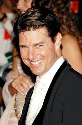 Metropolitan Museum Of Art Costume Institute Photograph - Tom Cruise At Departures For Annual by Everett