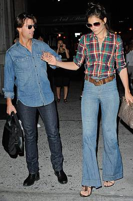 Celebrity Candids - Monday Photograph - Tom Cruise, Katie Holmes, Enter by Everett