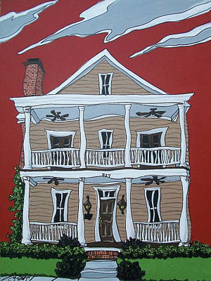 Painting - Tom House by John Gibbs