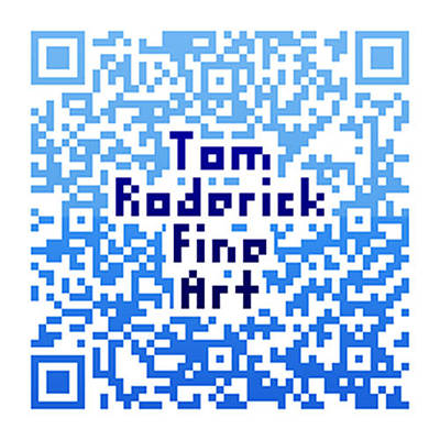 Digital Art - Tom Roderick Fine Art - Qr Code by Tom Roderick
