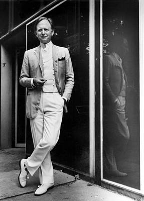 Tom Wolfe In 1981 Art Print
