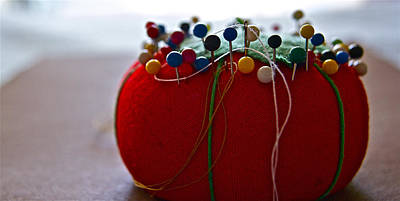 Photograph - Tomato Pins by Bill Owen
