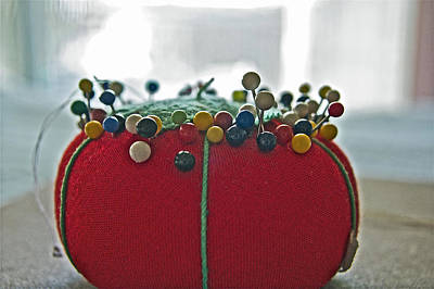 Photograph - Tomato Pins II by Bill Owen