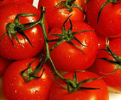 Photograph - Tomatoes by David Chapman