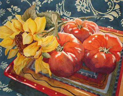 Painting - Tomatoes by Daydre Hamilton