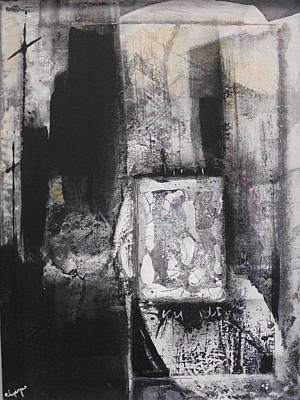 Mixed Media - Tomb by Ralph Levesque