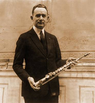 Saxophone Photograph - Tomm Brown, One Of The Six Members by Everett