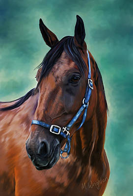 Painting - Tommy - Horse Painting by Michelle Wrighton