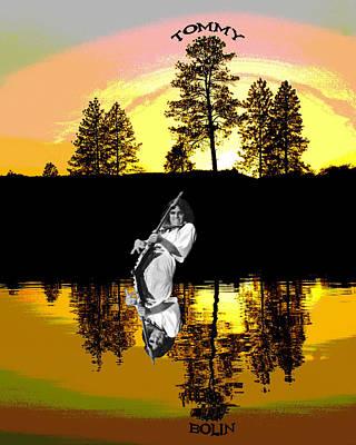 Photograph - Amber Lake #4 by Ben Upham