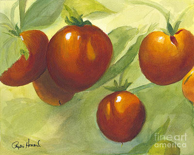 Painting - Tommy Toes by Phyllis Howard