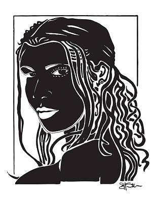 Toni Braxton Drawing - Toni by Artistic Photos