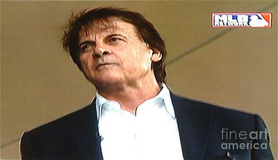Photograph - Tony Larussa Hof  by Barbara Plattenburg
