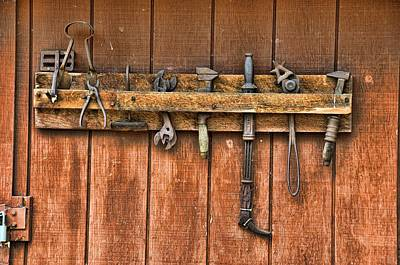 Photograph - Tool Shed by Jan Amiss Photography