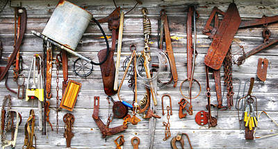Photograph - Tool Wall by Francesa Miller