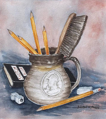 Painting - Tools Of The Trade by Barbel Amos