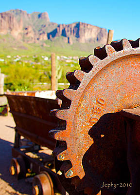 Arizona Artist Jeff Curtis Photograph - Tools Of The Trade by Jephyr Art