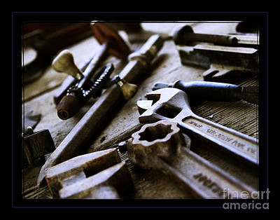 Tools Photograph - Tools by Robert R Sanders