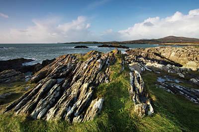 Toormore Coastline Ireland Art Print