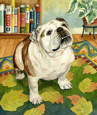 Attitude Painting - Tootsie by Anne Gifford