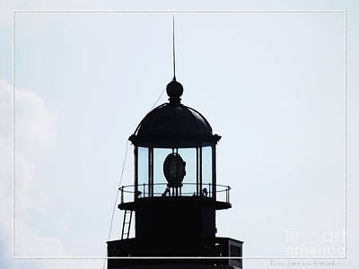 Photograph - Top Of Buffalo Main Lighthouse by Rose Santuci-Sofranko