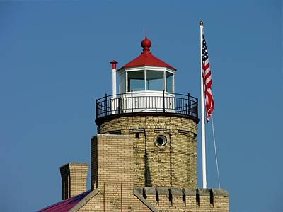 Photograph - Top Of The Lighthouse by Keith Stokes